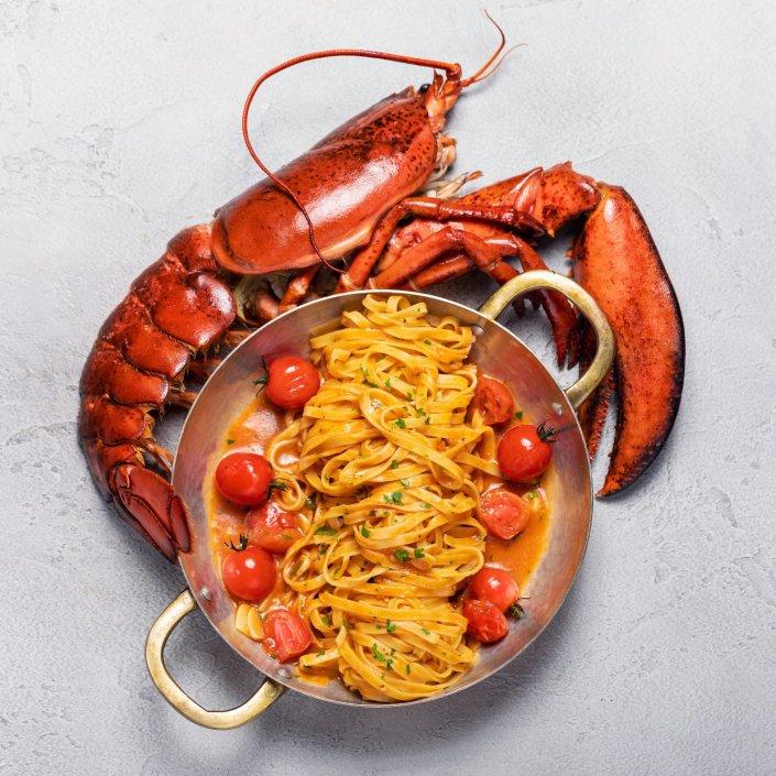 фуд-фотография, съемка еды для наружной рекламы ресторана Zafferano